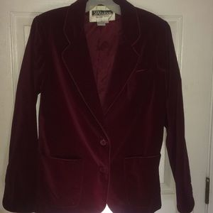 Blazer color rich wine